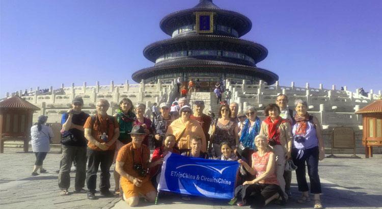 nos voyageurs dans le temple du ciel