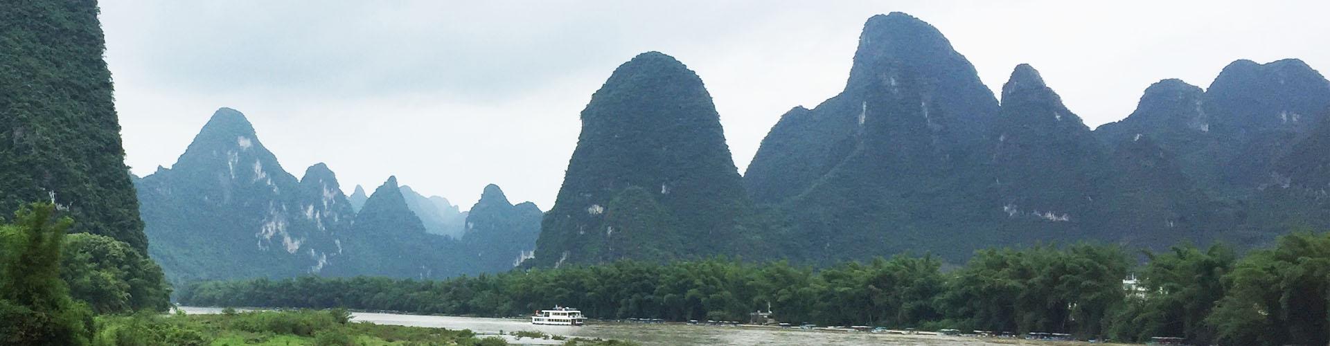 paisaje en Yanghsuo