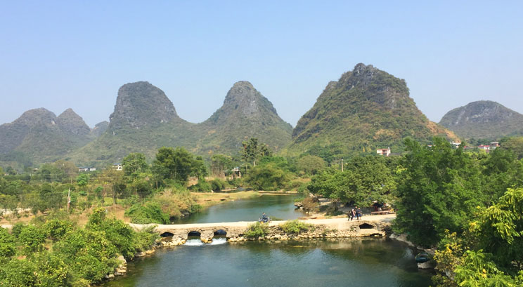 paysage Yangshuo