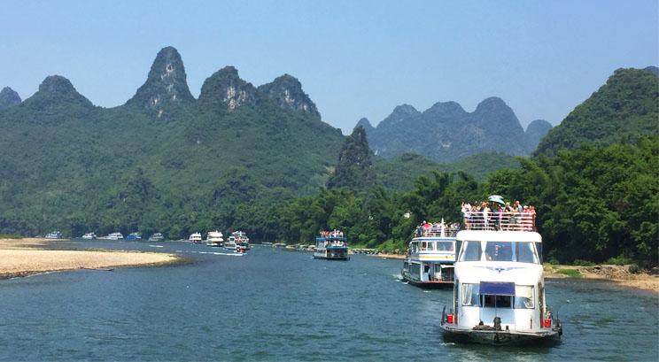 crucero por le río Li