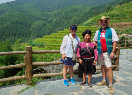 terrazas de arrozales