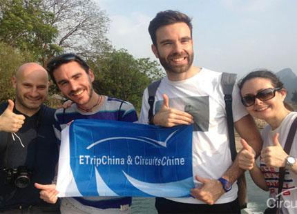 Voyageur à Yangshuo
