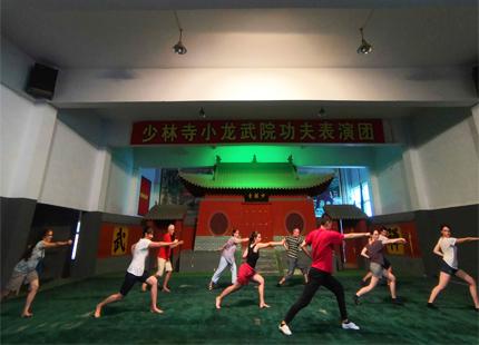 apprendre le Kungfu dans la temple de Shaolin