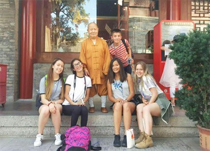 voyageurs à Pékin Hutong