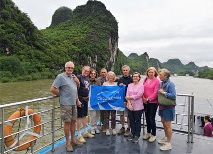crucero del río Li