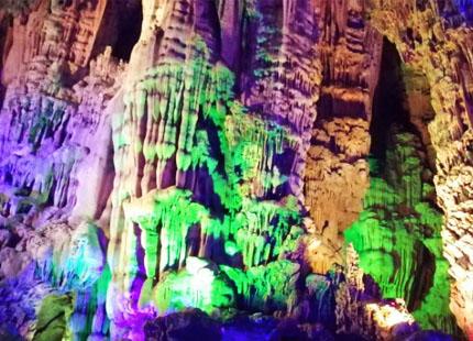 grotte de flûte de rose