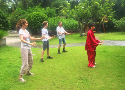 apprendre le Taiji à Yangshuo