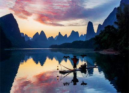 pêche à Xingping
