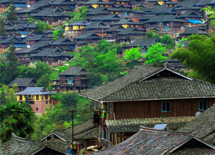 Village Miao de Basha