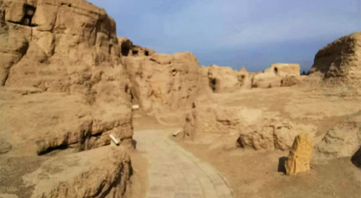 Ruinas de Jiaohe