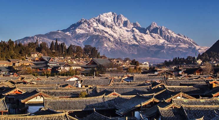 vieille vile de Lijiang