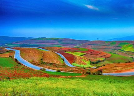 terre rouge de Dongchuan