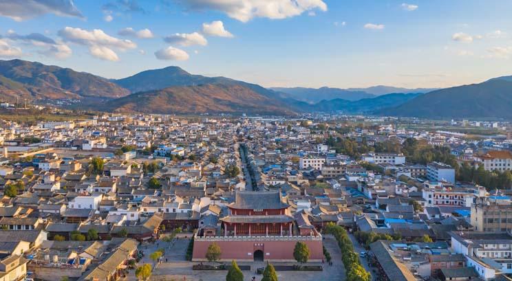 vieille ville de Dali