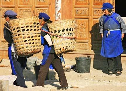 ethnies Naxi à Lijiang