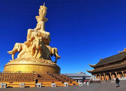 temple de Huazang au sommet d'or