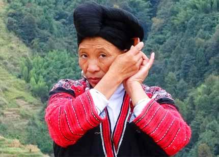 ethnies des Yao à Longji