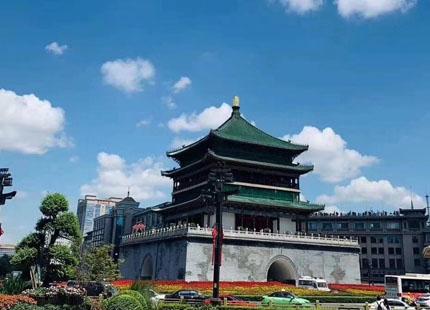 tour de tambour de Xian