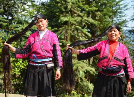 ethnie des Yao à Longji