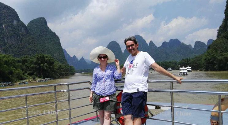 paisajes del río Li