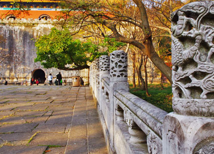 ombeau des Ming de Xiaoling