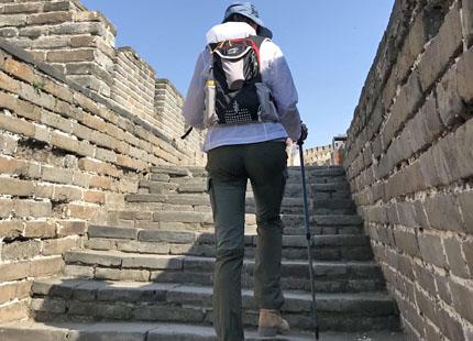 randonnée sur la grande muraille de Mutianyu