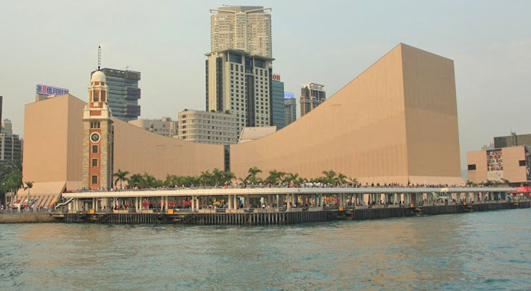 Ancienne tour de l'horloge Hong Kong