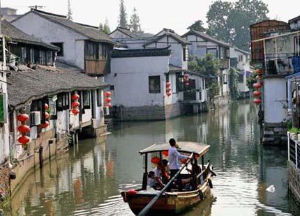 village d'eau de Zhujiajiao