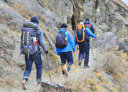 randonnée aux Gorges du saut du tigre