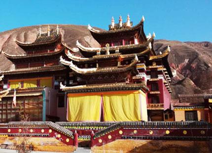 monastère au Gansu