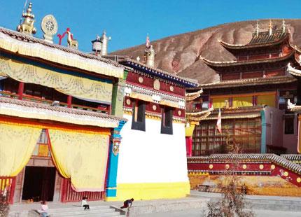 templo en Gansu