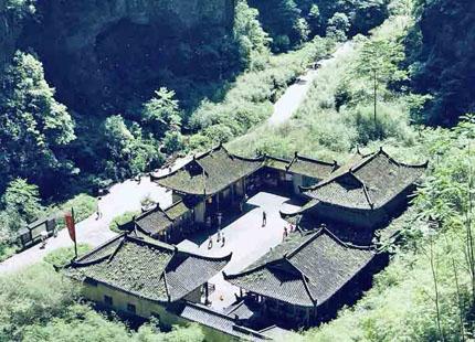 Parque geológico kárstico de Wulong