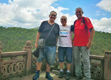 client dans la montagne shibaoshan