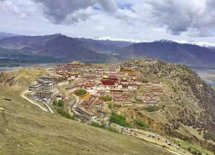 monasterio Gandan
