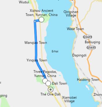 viaje en Dali