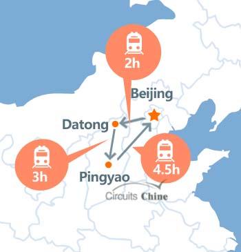 viaje de Beijng-Datong-Pingyao