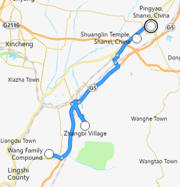 viaje de pingyao de 2 días