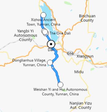 viaje en kunming-dali-lijiang