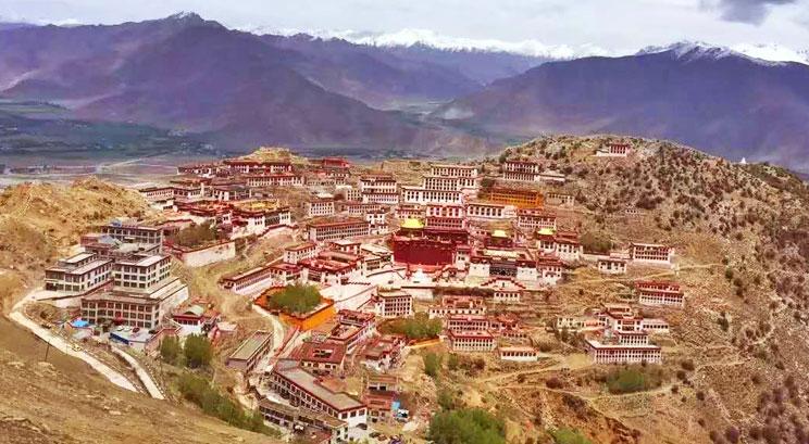 Monastère Ganden