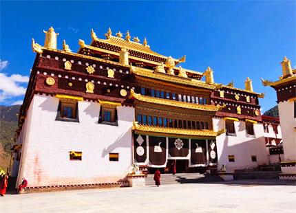 monastère de Tagong