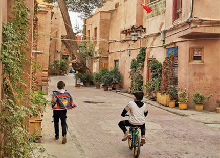 veille ville de Kashgar