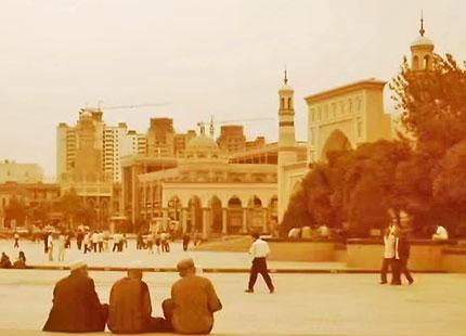 Mosquée Id Kah de Kashgar (Mosquée Etigar)
