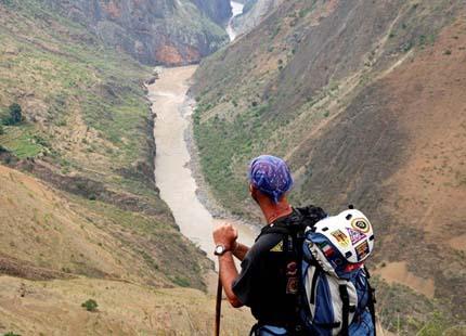 trekking en Yunnan