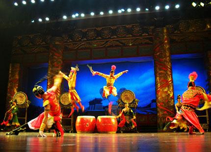 spectacle de chants et danses de la dynastie des Tang