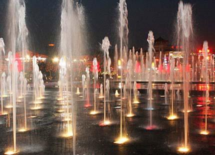 fontaine musicale de Xian