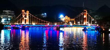 deux rivières et 4 lacs à Guilin