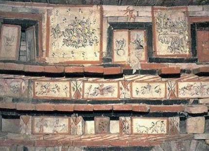 Tombeaux de fresques des Wei et des Jin