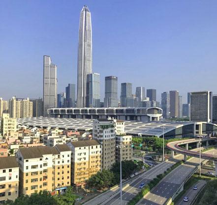 ville de Shenzhen
