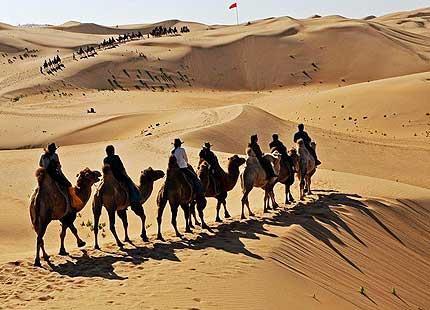 désert de Xiangshawan