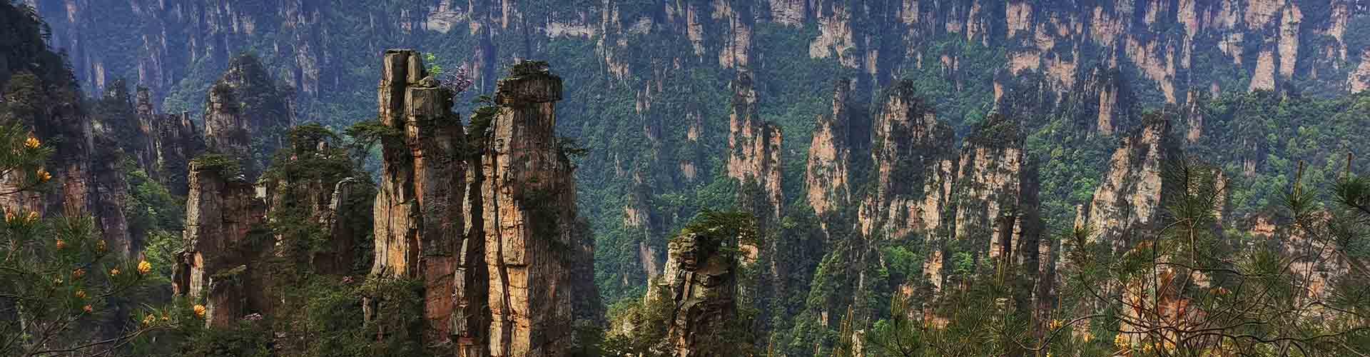 le parc de Zulingyan à Zhangjiajie