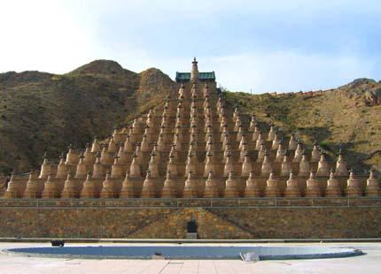 108 stupas de Qingtongxia